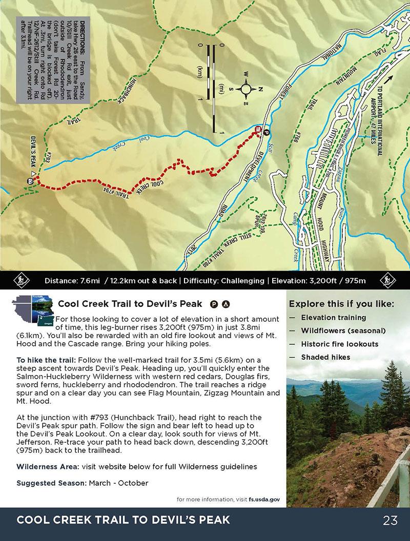 12 Hiking Trails in Oregon's Mt Hood Territory
