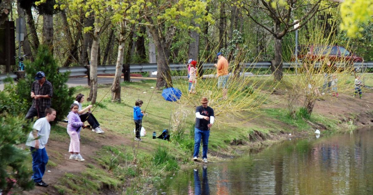 Great Kids Fishing Spots In Mt Hood Territory
