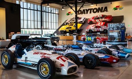 World of Speed Indy Car exhibit