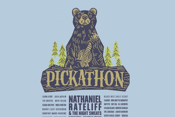 Flyer for Pickathon 2019 with lineup