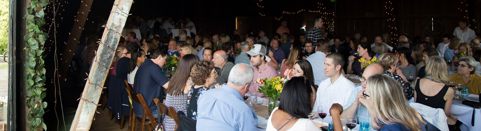 Field and Vine Dinner Barn Kestrel courtesy Field and Vine Events