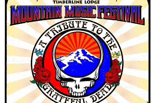 Timberline Lodge Mountain Music Festival Flyer
