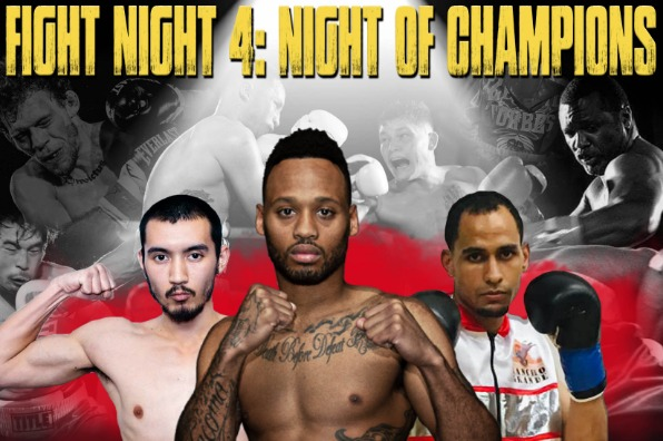 Pro Boxing event flyer