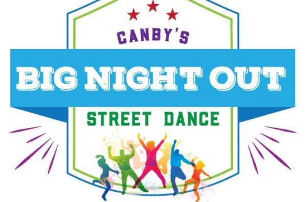 Logo for Canby's Big Night Out Street Dance