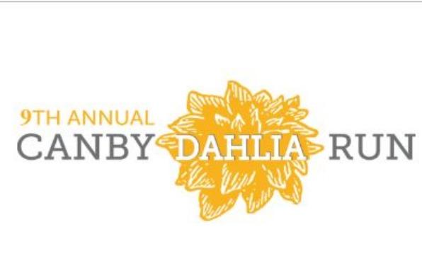 Canby Dahlia Run logos