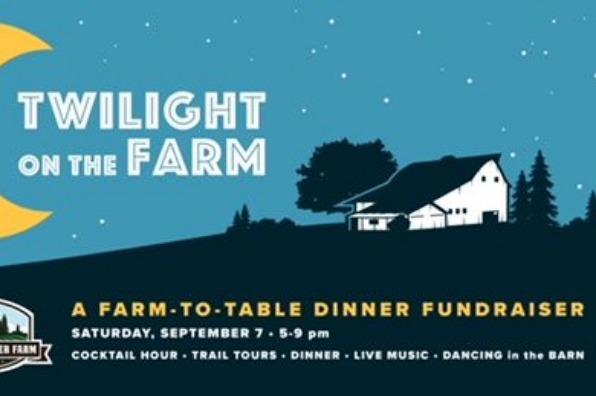Twilight on the Farm dinner at Luscher Farm flyer