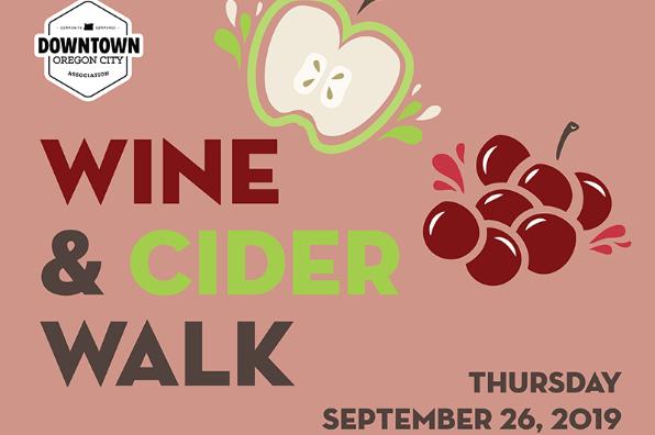 Downtown Oregon City Wine & Cider Walk event information