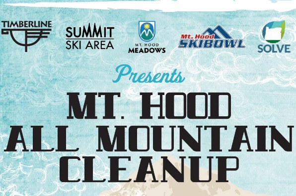 All Mountain Cleanup on Mt. Hood Flyer