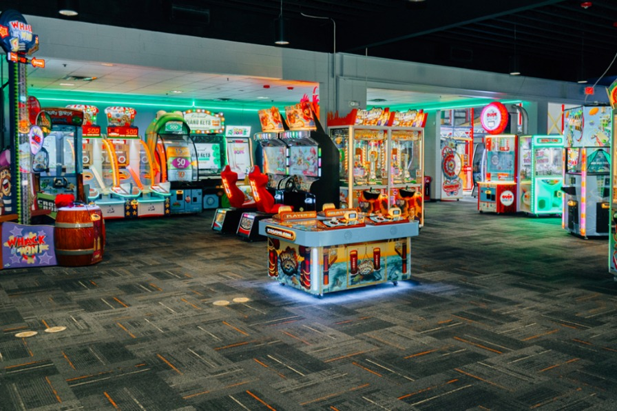 Arcade in Bullwinkles Entertainment Wilsonville
