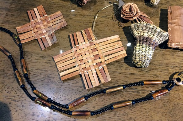 Example of Native American Crafts from the classes at the End of the Oregon Trail