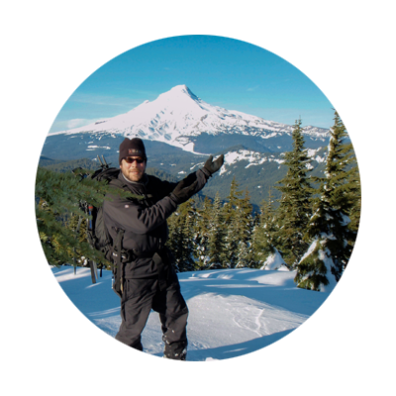 Mt. Hood National Forest idea circle