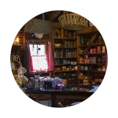 Gift shop at Philip Foster Farm