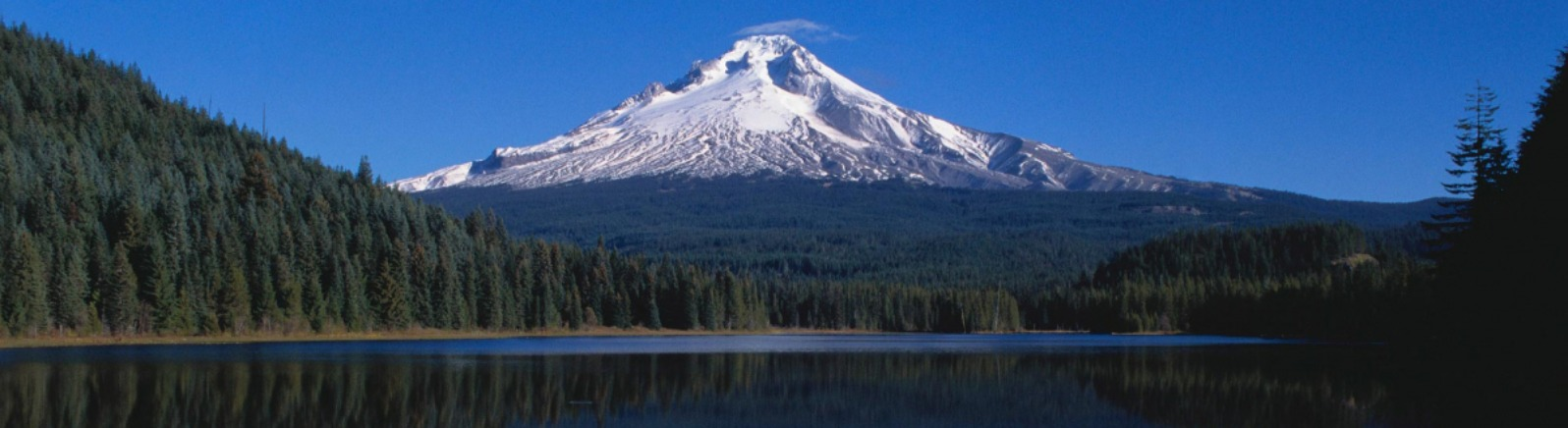 Trillium Lake with reflection of Mt. Hood