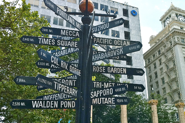 Directions in Pioneer Square