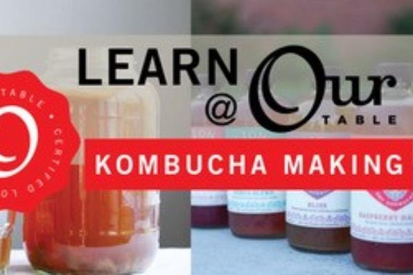 Our Table classes - kombucha