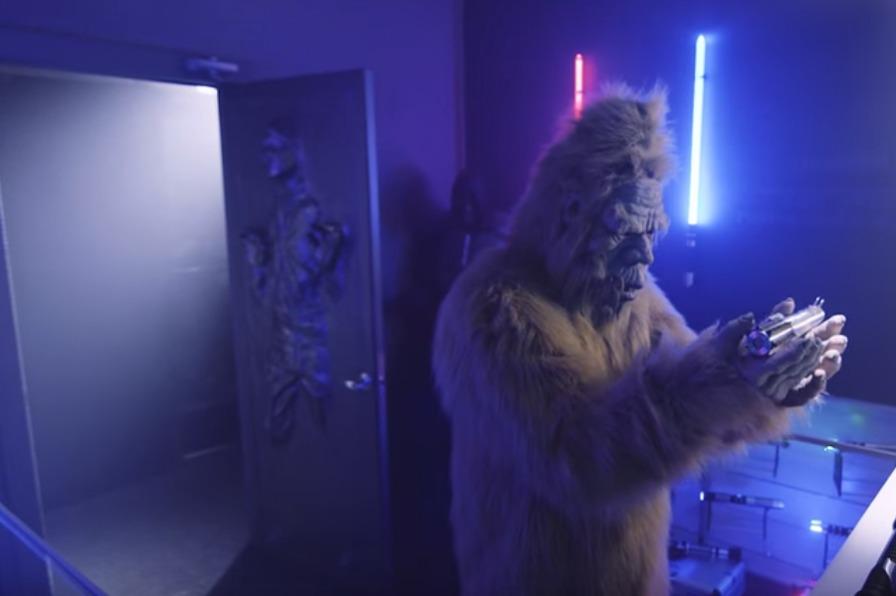Bigfoot at saberforge