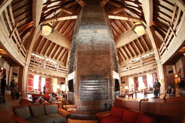 Timberline Lodge Lobby Fireplace, National Historic Landmark