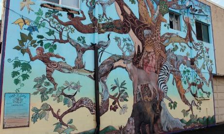 Tree of Life mural, Estacada