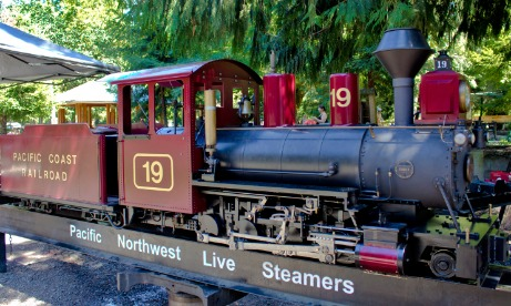 Pacific Northwest Live Steamers, Engine 19