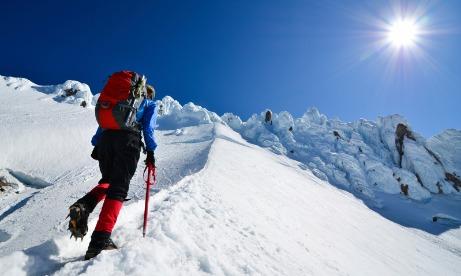 Climbing Mt Hood