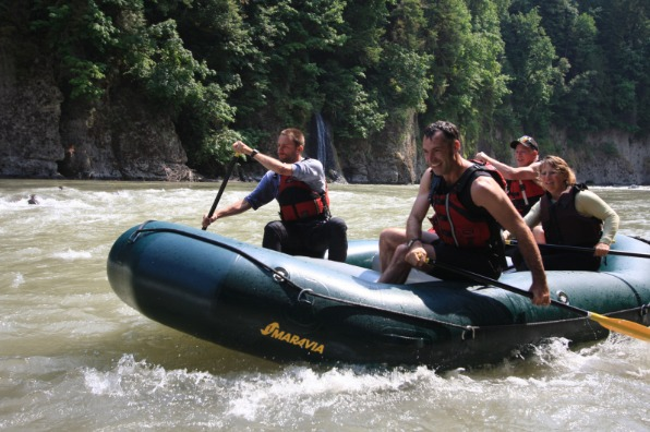 Whitewater Rafting, Sandy River