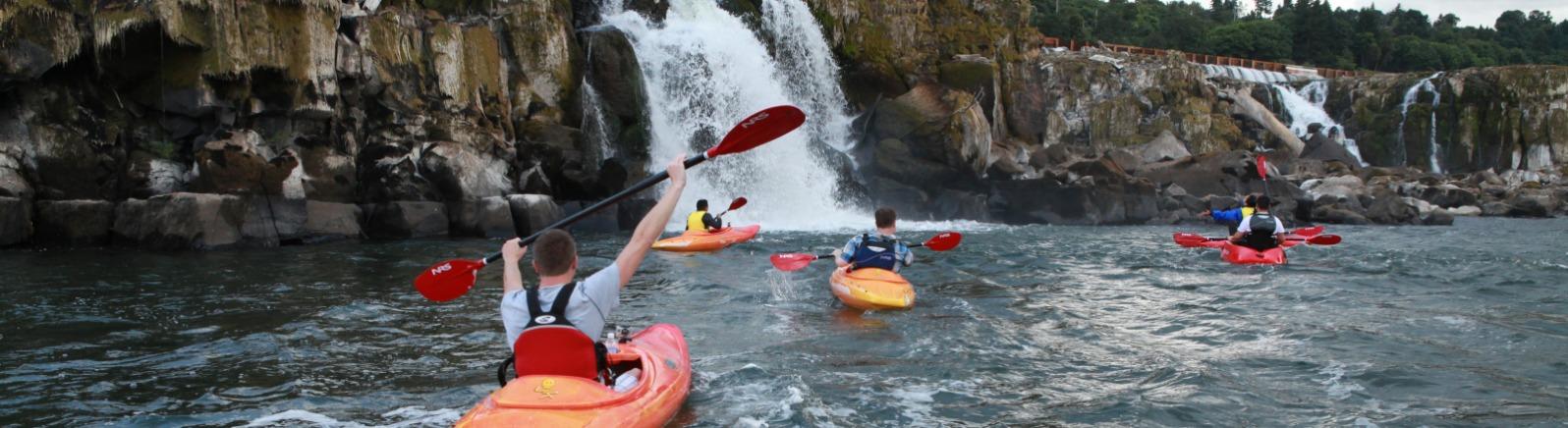 eNRG Kayaking, Willamette Falls kayaking tour