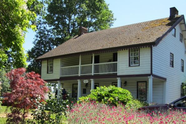 William L. Holmes House & Flower Garden at Rose Farm