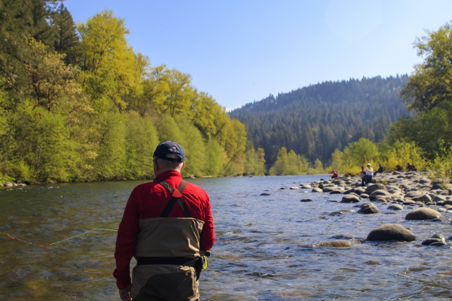 Fly Fishing Sandy River