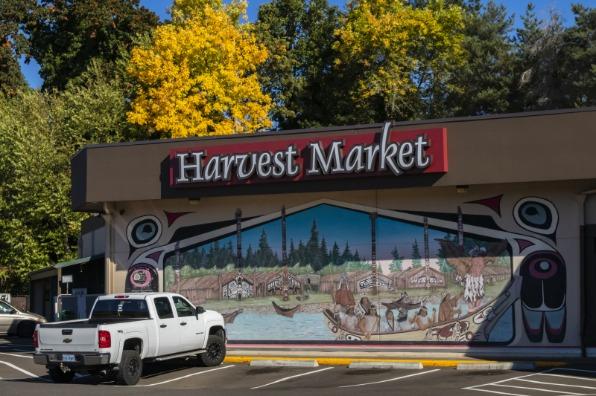 Artback Mural at Harvest Market