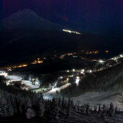 Night Skiing at Skibowl