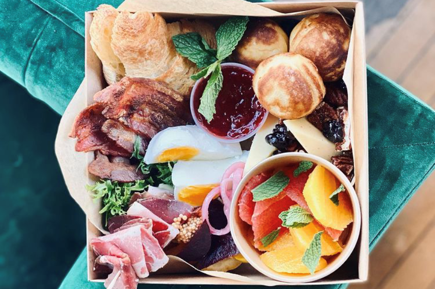 Brunch box to go from The Hive Social in Oregon City