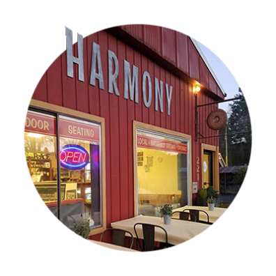 Harmony Restaurant in Estacada - exterior