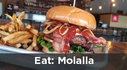 Hamburger from The White Horse in Molalla related articles link