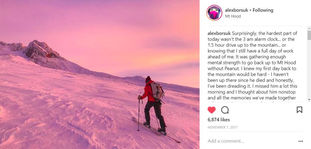 Mount Hood hiking sunrise