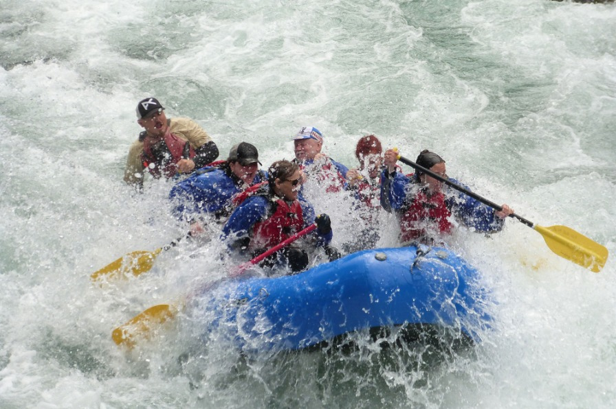 Blue Sky Rafting, Clackamas River Whitewater