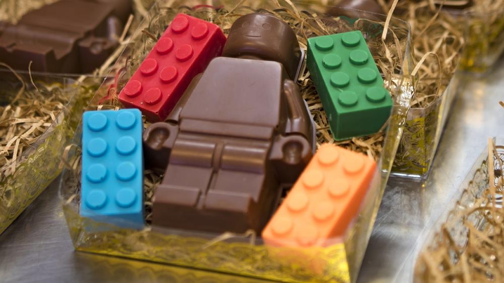 Chocolate minifig Ladybug Chocolates Mount Hood Territory