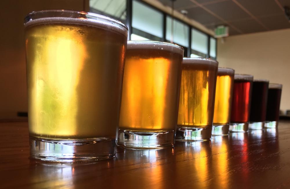 Coin Toss Brewing beer lineup