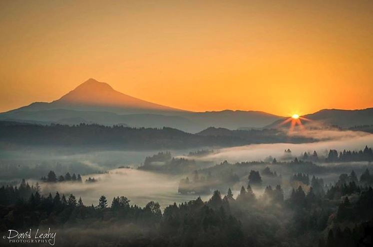 Jonsrud Viewpoint sunrise by David Leahy Photography