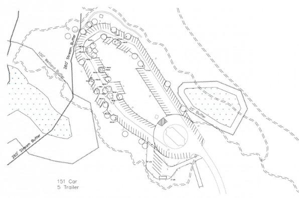 Sandy Ridge Trails Drawing