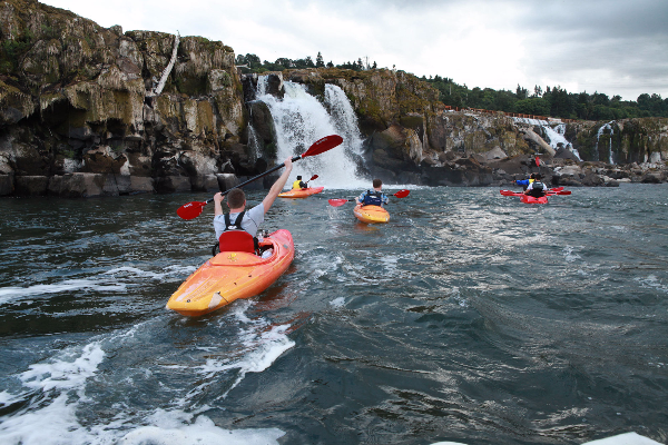 eNRG Kayaking, Willamette Falls kayaking tour