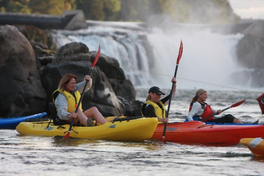 eNRG Kayaking Willamette Falls Tour