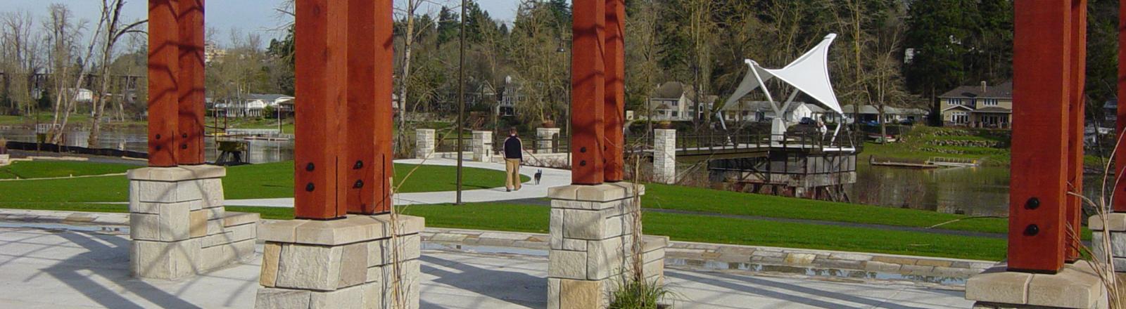 Foothills Park, Pioneer Spirit Sculpture