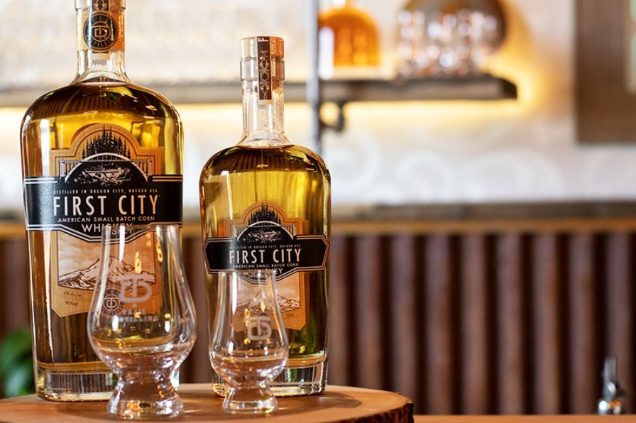 First City Whiskey from Trail Distilling