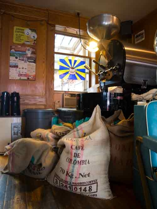 Happyrock Coffee roaster in Gladstone