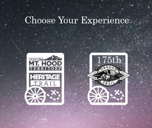 Mt. Hood Territory Heritage Trail app logos