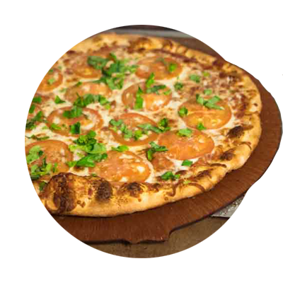 Pizza from Ivy Bear Pizzeria