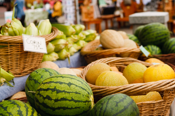 Lake Oswego Farmers Market Produce