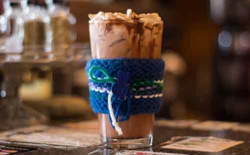 Happyrock Coffee Roasters iced mocha