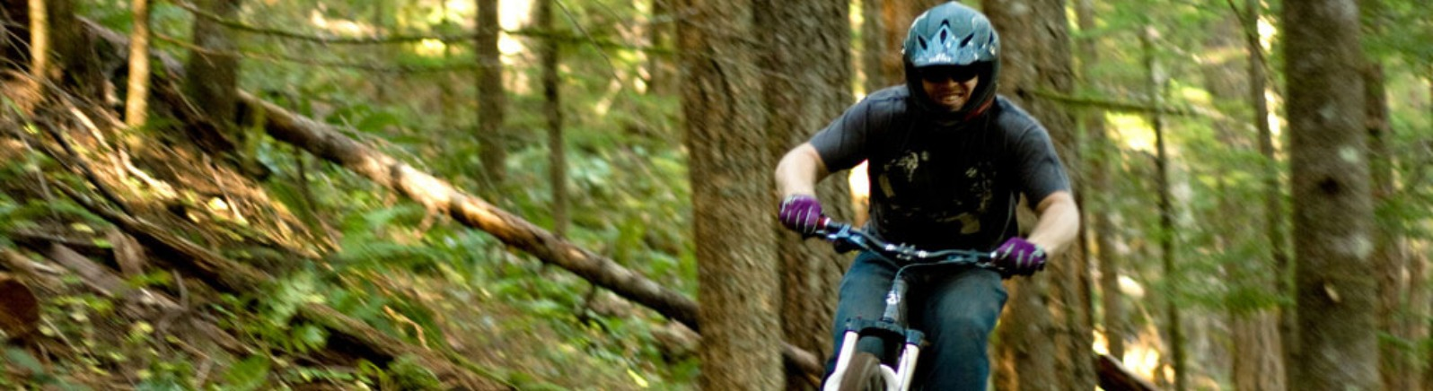 Mountain Biking, Sandy Ridge Trail
