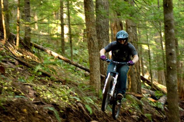 Mountain Biking, Sandy Ridge Trail